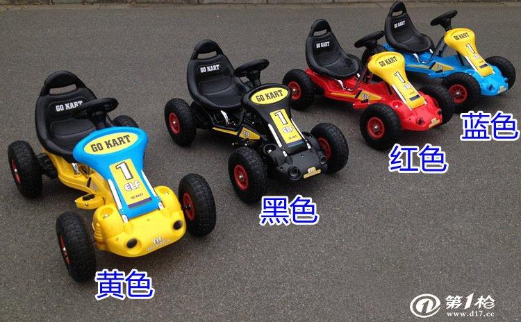 新款卡丁车遥控电瓶童车四轮汽车儿童电动车宝宝可坐玩具车
