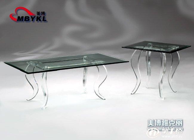北京美博亚克力供应有机玻璃茶几