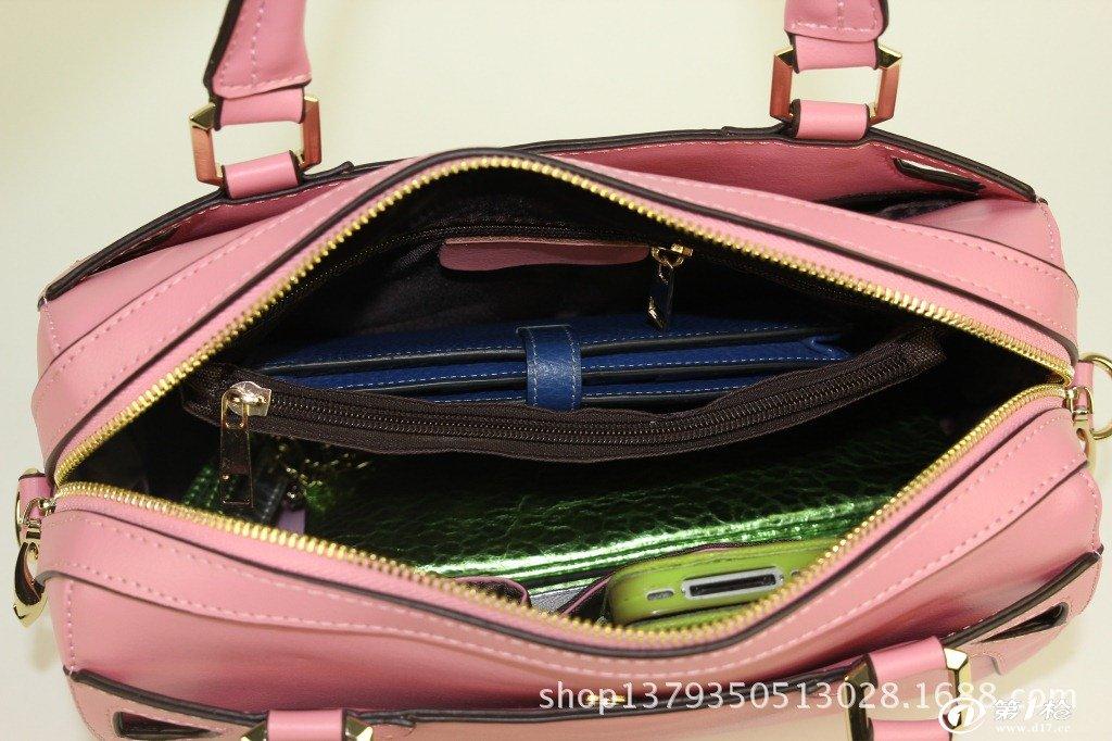 产品手绘手提包内部结构图