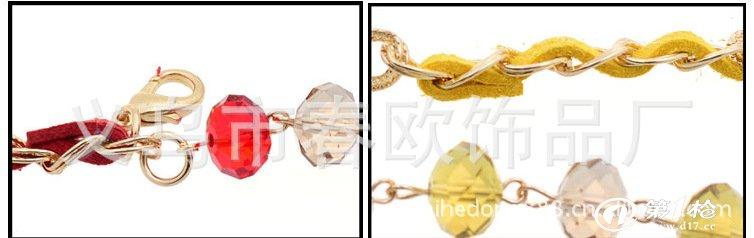 【厂家订做】女士珍珠腰链 金属腰链 义乌腰链批发 线绳流苏