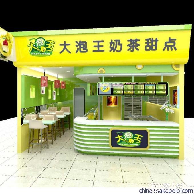 供应松岗奶茶店装修,奶茶店装潢设计施工公司