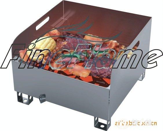 燒烤爐 純不銹鐵設計,經久耐用