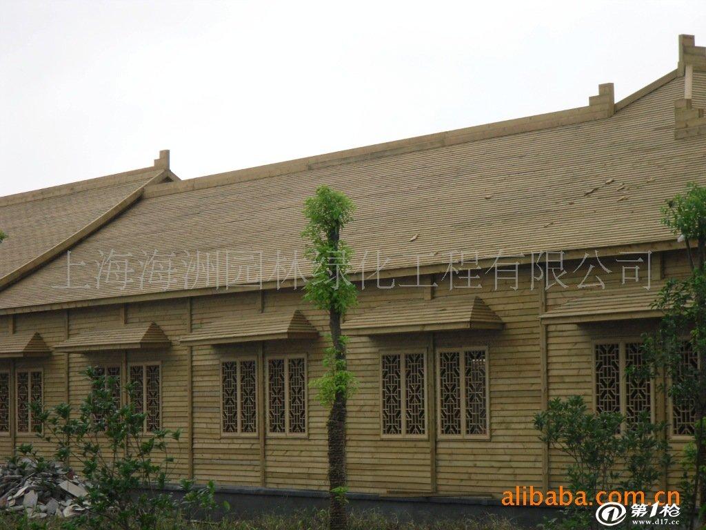 承包防腐木房屋工程,茶楼农庄,小木屋,木结构房屋,木别墅建造