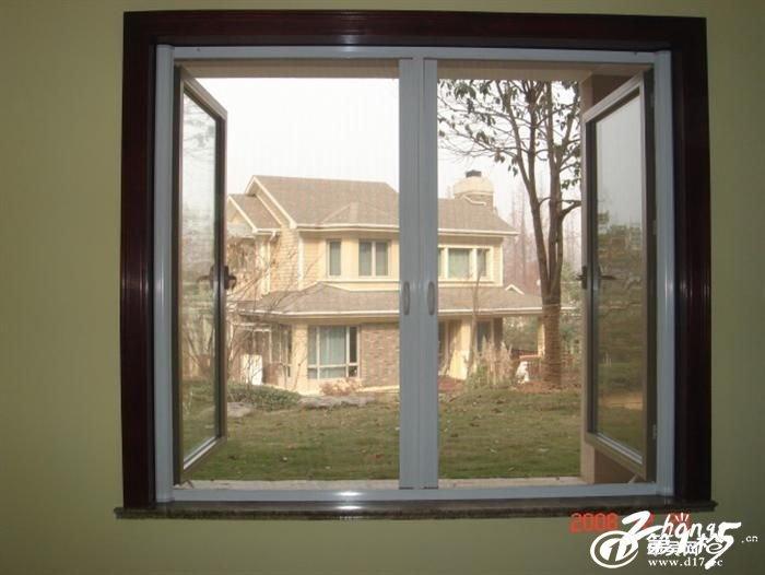 常州磁性卷帘式自动推拉隐形纱窗纱门防蚊可拆卸图片