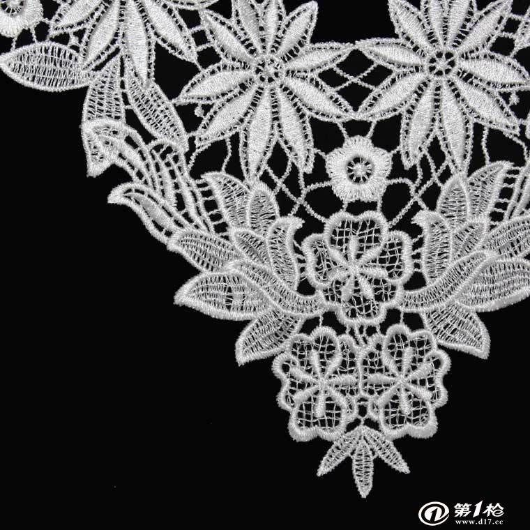 纺织服装辅料 花边类 一站式领花辅料供应