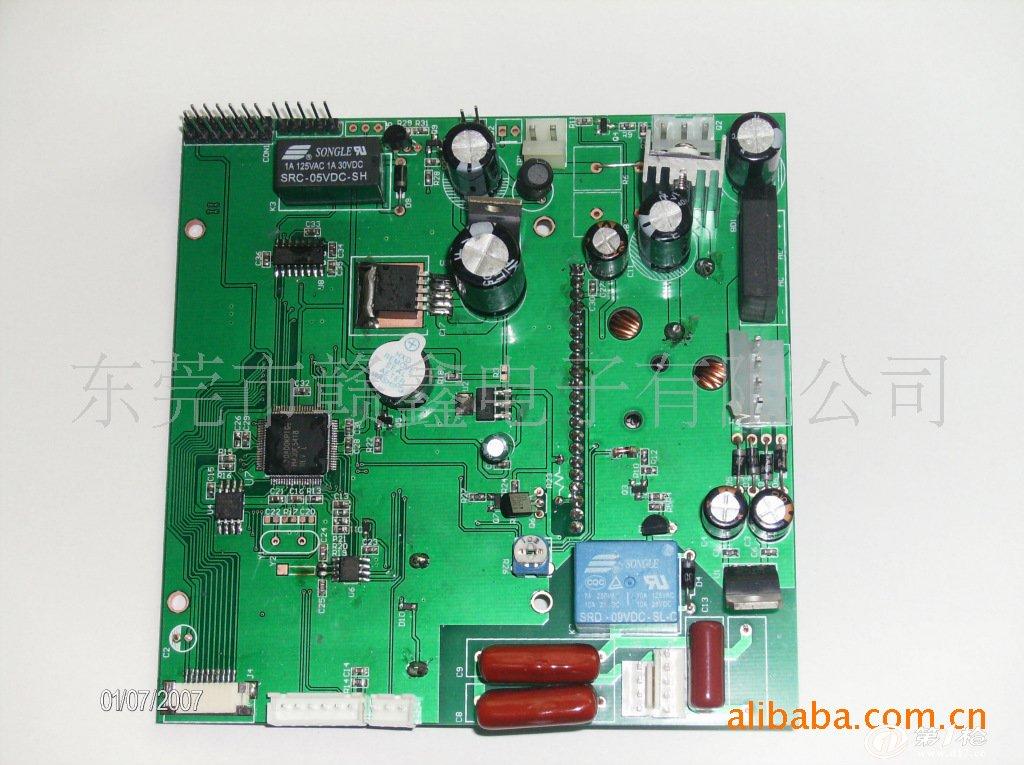 测试类电路板插件/贴片面图示