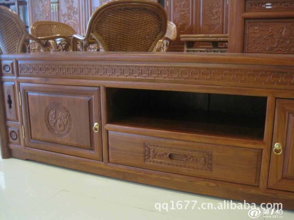 供应红木家具 古典 花梨木 电视柜 新款