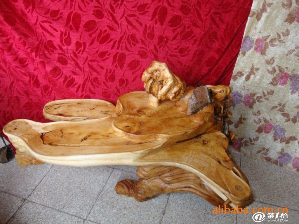 本厂专业生产根雕,木雕茶几,茶台