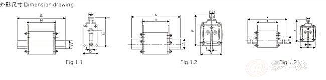 2.产品特点 符合标准IEC60269、DIN43620、GB13539标准等,以及CE和ROHS认证 额定电压:AC500V/690V或DC440V 额定电流:2A~1250A 例外:制造等级00为DC250V 工作等级 gL/gG用于电缆和导线保护 aM用于电动机保护 aR用于半导体器保护 良好的选择性 额定分断能力:AC 120kA(制造等级00:AC 50kA) 3.