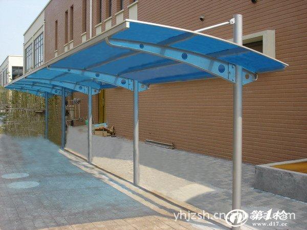 上海颖浩建筑装饰工程有限公司专注设计,生产组装式车棚,钢结构,雨棚