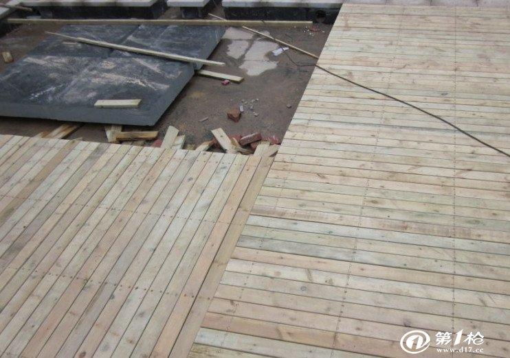 户外木地板安装方法图解