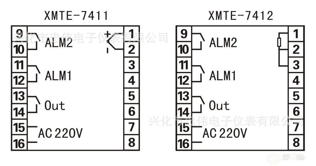 智能温控仪/数显温控仪/xmte-7431/7432/温控仪/温控