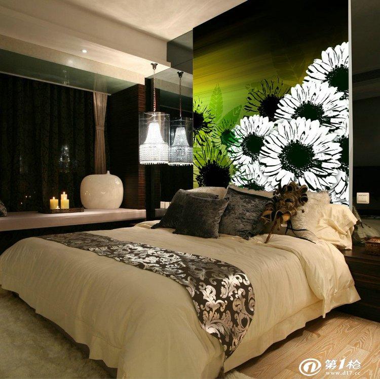 电视背景墙纸壁纸大型壁画 3d客厅卧室影视墙韩国现代