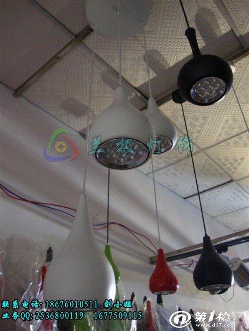 电工电料,线缆照明 灯具灯饰 室内灯具 吊灯 热卖 供应18w大葫芦型led