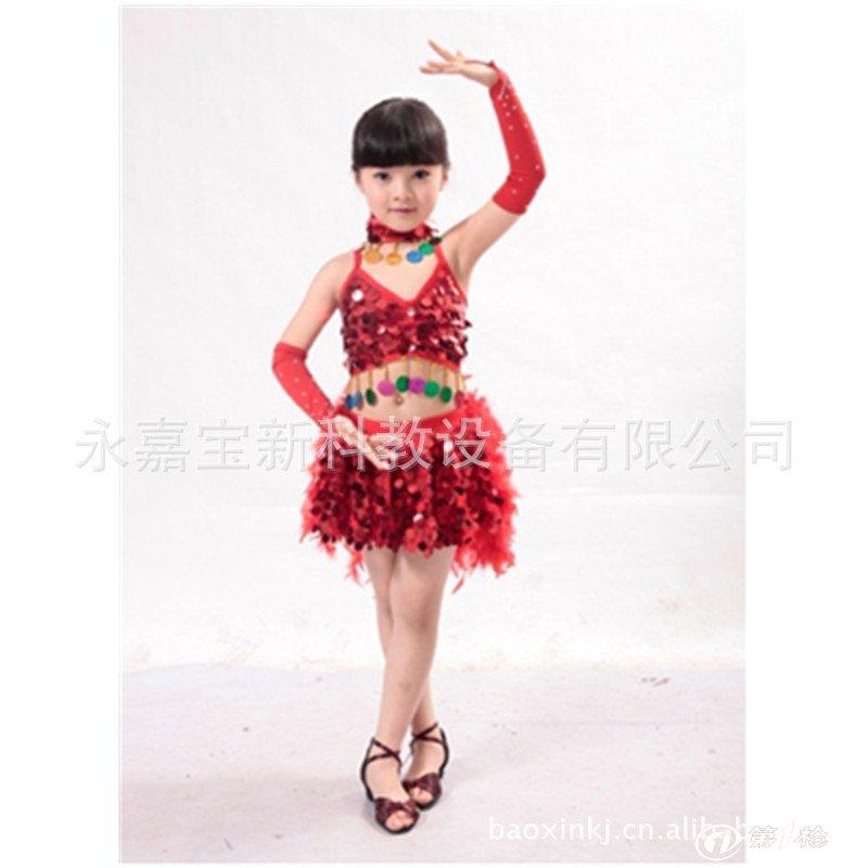 批发 儿童舞蹈服 练功服 短袖幼儿演出服 儿童表演服装