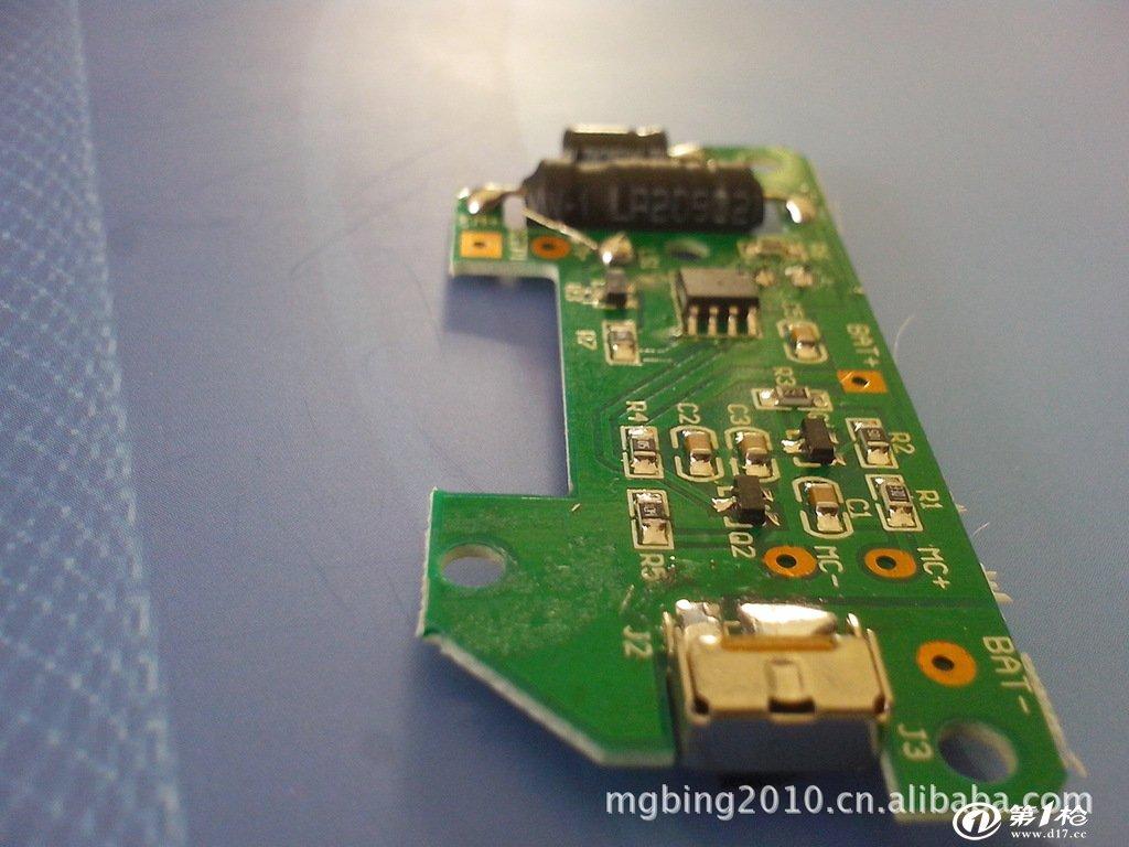 第一枪 产品库 电子元器件 线路板/电路板 声控报警器线路板