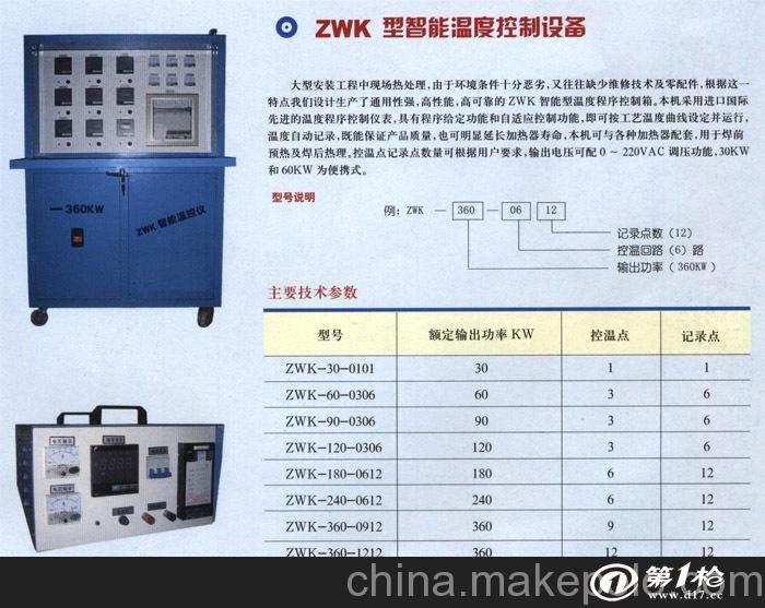 工业炉窑 电阻炉/马弗炉/电炉 智能温控仪-供应便携式温度控制箱