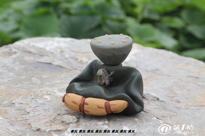 多款汝窑哥窑紫砂茶宠工艺 茶宠茶盘摆件 荷叶青蛙茶玩 批发