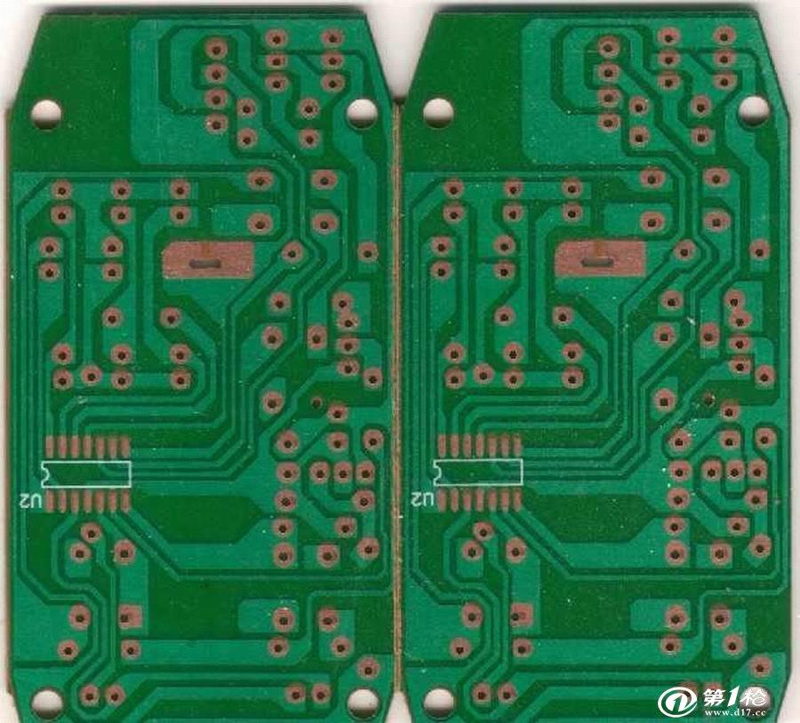 玩具pcb板 单面镀金线路板_线路板/电路板_第一枪
