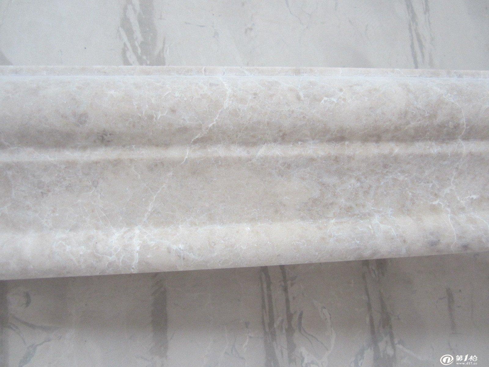 大理石圆柱,石线