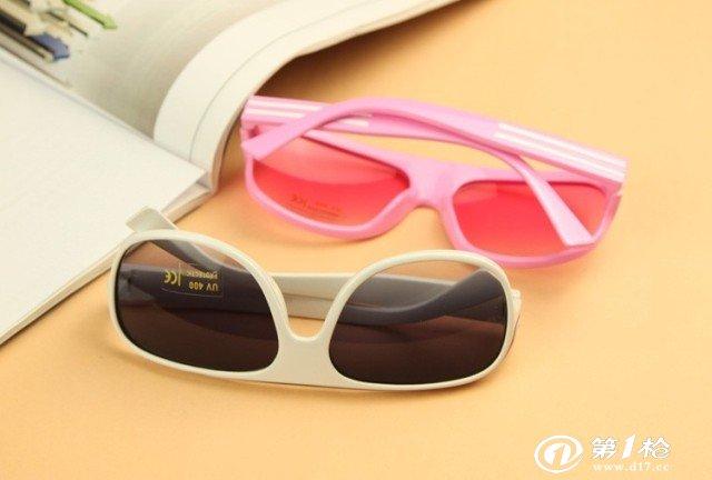超萌可爱小宝贝 儿童太阳眼镜 时尚个性bb 新款大框太阳镜 墨镜