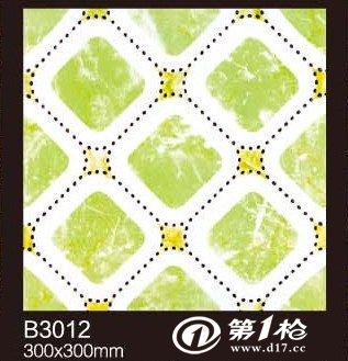 厂家直销【批发】300*300仿小石子卫生间防滑耐磨地砖抛晶砖瓷砖