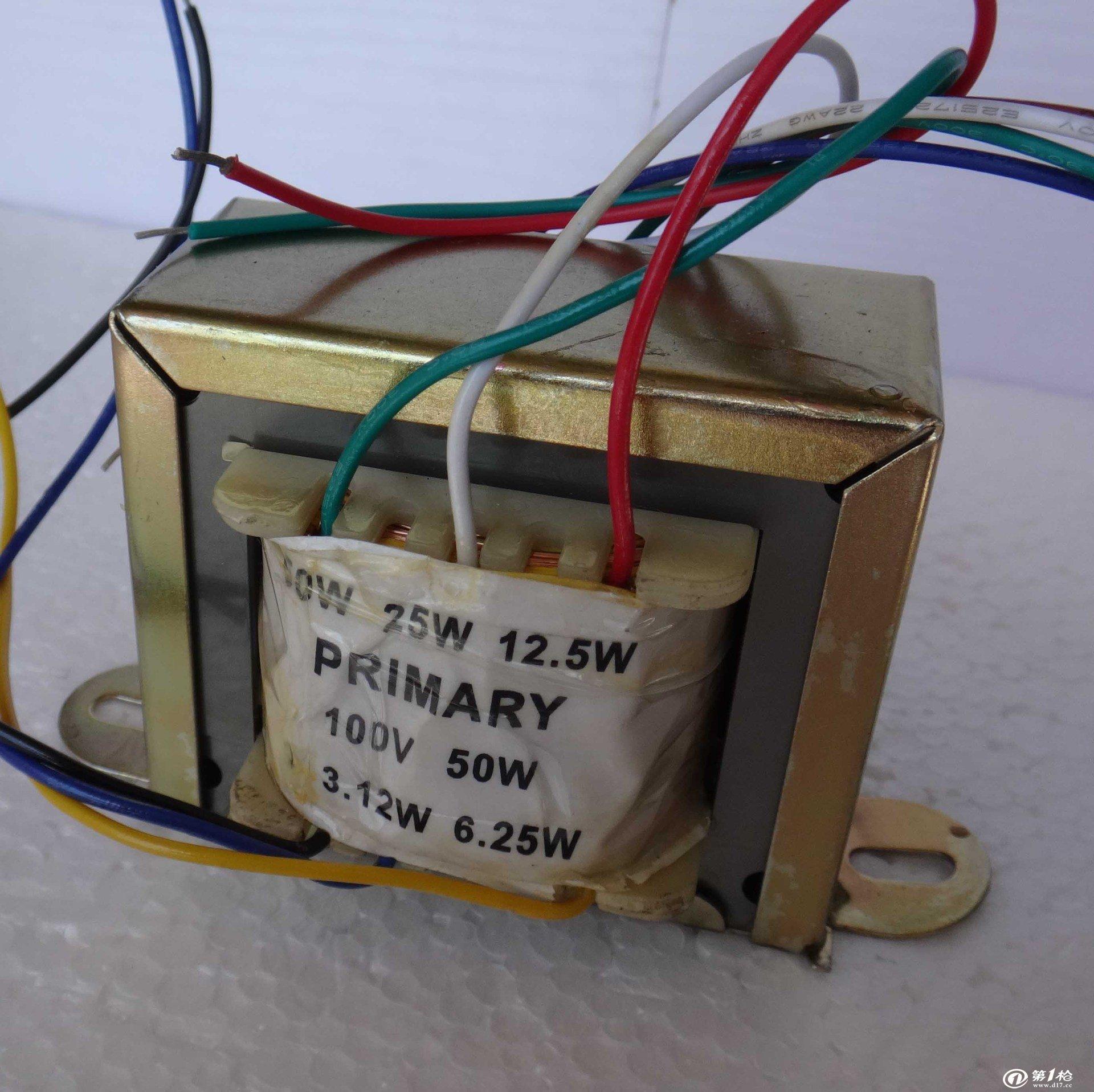 音频变压器(麦克风,对讲门铃,收音机)