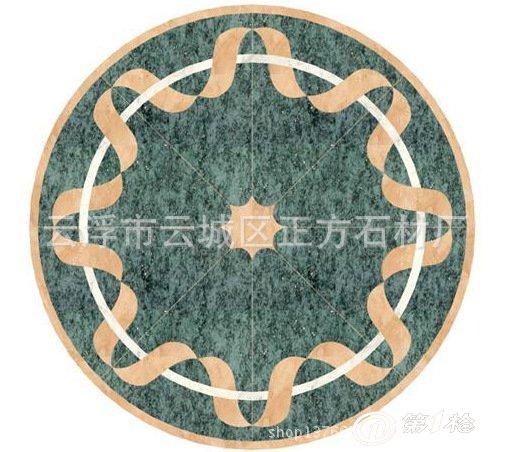 天然大理石拼花 欧式拼图 水刀艺术拼花 拼图专业定做