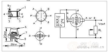 独立型无线/有线烟雾传感器探测器警报器/烟感器