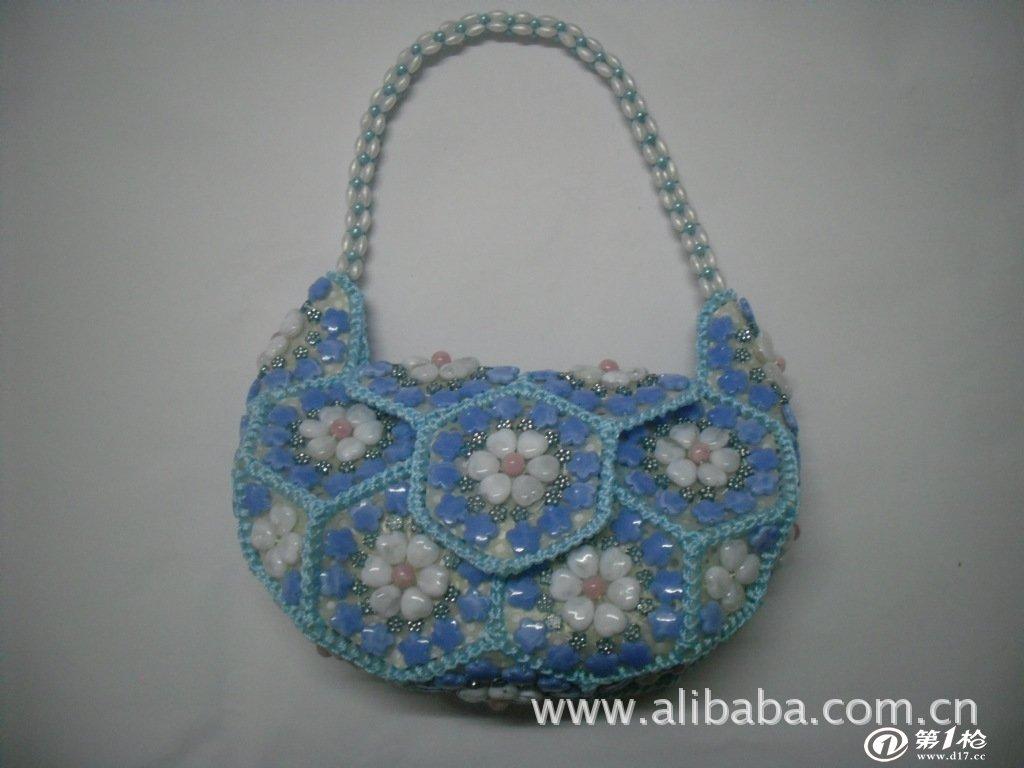 珠子包,手工珠子包,串珠包
