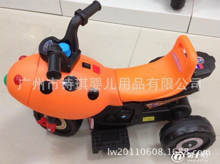2014年新款儿童摇控电动车电动三轮车摇控车摩托车可一件代发