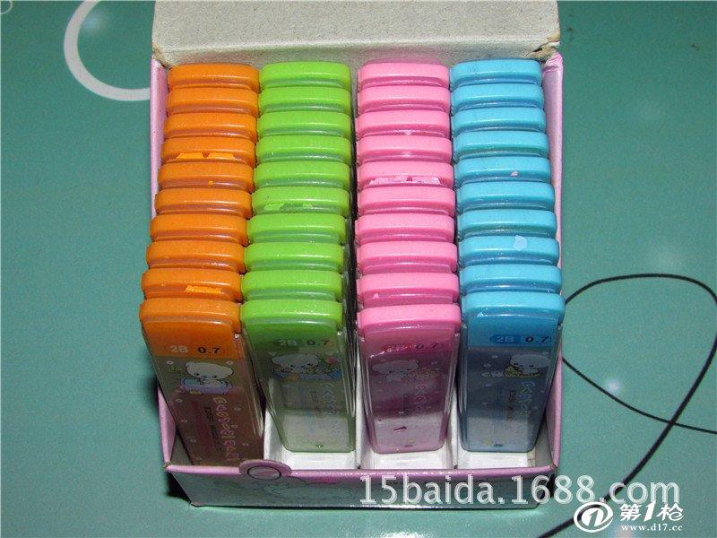 笔芯 批发 产品尺寸:铅芯尺寸 60mm 包装:新包装20支/卡,12卡/小盒