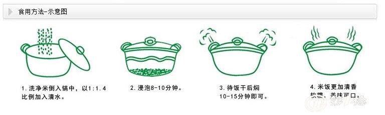 米饭做法 不管是新米还是陈米,都能蒸出香气益人,粒粒晶莹的米饭,这里有四大秘籍噢!只要您记住这四大秘籍,一定也会蒸出香甜可口的米饭。 首先,我们用一个容器量出米的量。接下来第一大秘籍洗米:洗米一定不要超过3次,如果超过3次后,米里的营养就会大量流失,这样蒸出来的米饭香味也会减少。记住洗米不要超过3次。 第二大秘籍泡米:先把米在冷水里浸泡1个小时。这样可以让米粒充分的吸收水分。这样蒸出来米饭会粒粒饱满。 第三大秘籍米和水的比例:蒸米饭时,米和水的比例应该是1:1.