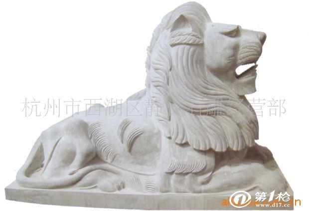 供应精美纯手工石雕动物雕塑