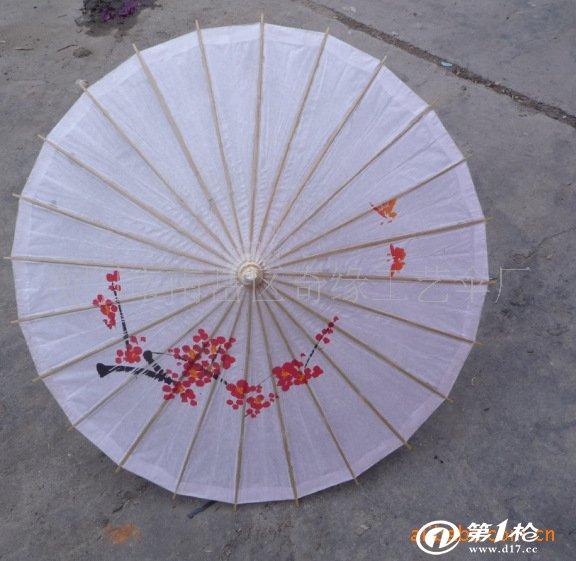 供应 牡丹花 手绘油纸伞 奇缘工艺