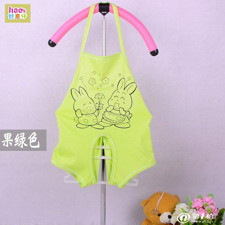 夏款男女宝宝开档背带 短裤 吊带肚兜短爬 0-18个月婴幼儿睡衣