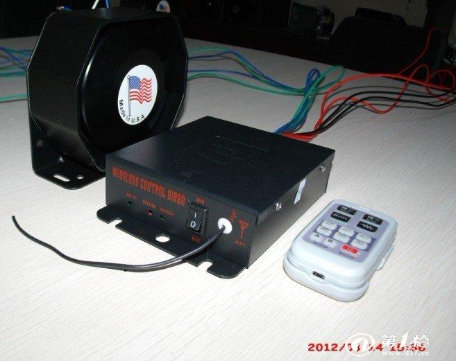 防盗报警器/控制器 as720遥控200瓦进口警报器  高档大方新款主机