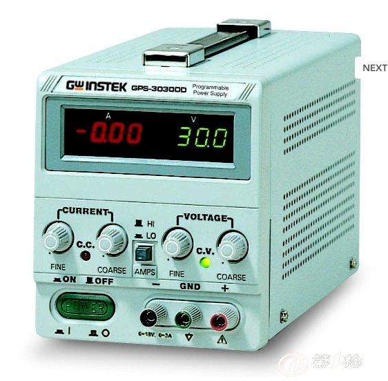 台湾固纬直流稳压电源gps-3030dd特价大促催