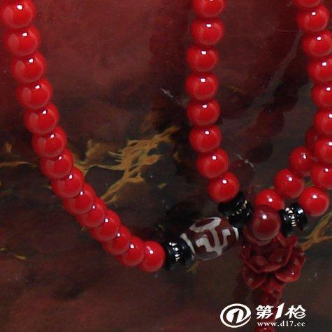 进口红色珊瑚石手链 坦桑宝石 珊瑚石手链饰品批发玛瑙图片