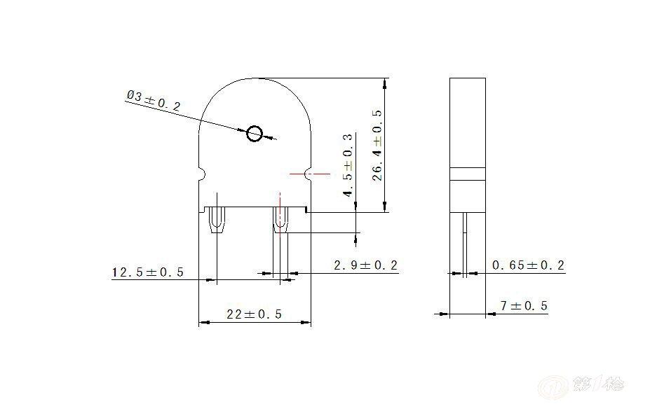 压电式蜂鸣器 pt2270d pt2220z