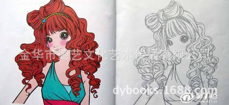 8岁儿童简笔画公主内容图片展示