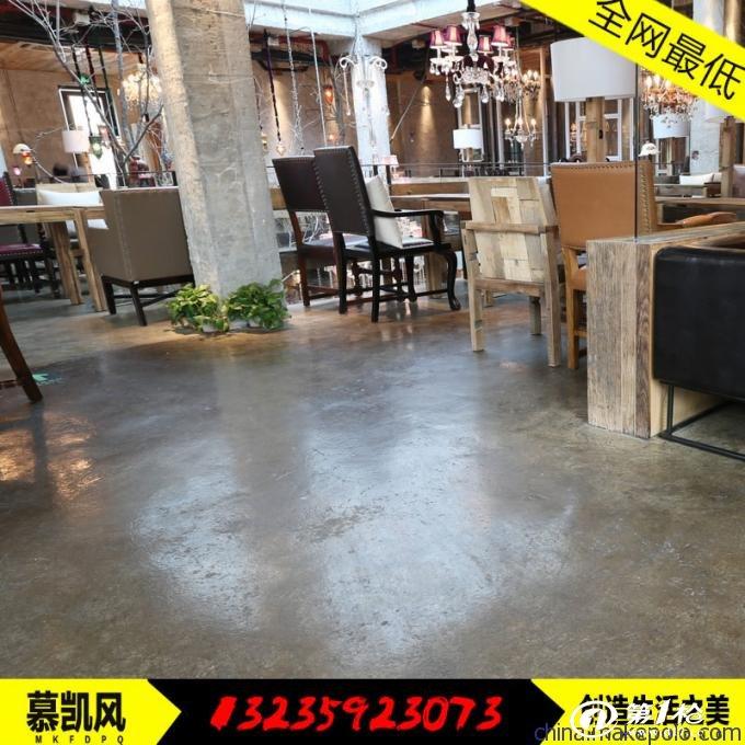 耐磨抗压环氧复古地坪漆做旧地板漆水泥地面涂料不二之选