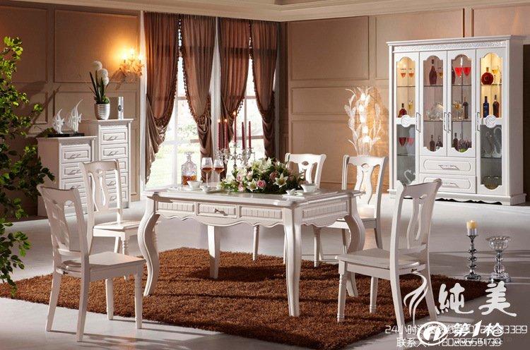 四门酒柜/厨房客厅餐边柜/欧式储物柜/田园风格家具/婚房家具
