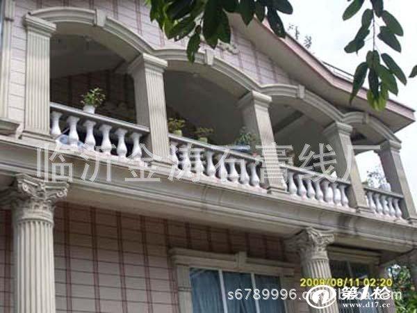 山东省临沂市快速定做各种外墙grc水泥罗马柱,檐口造型