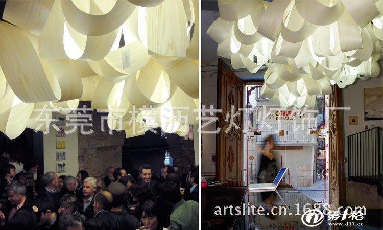 欧式灯具店设计图片