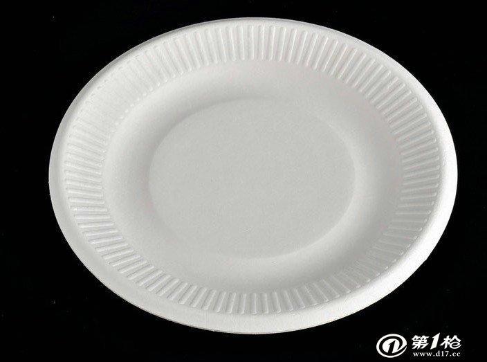 一次性纸碟厂家生产销售圆形白色一次性纸碟