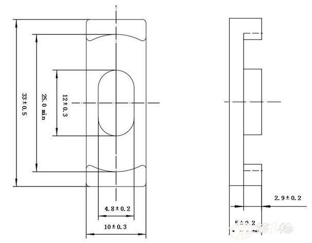 ec33/10节能灯磁芯磁环 led灯磁芯